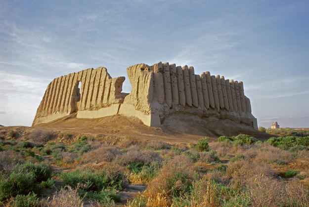 Greater Kyz Kala from the south, 2004