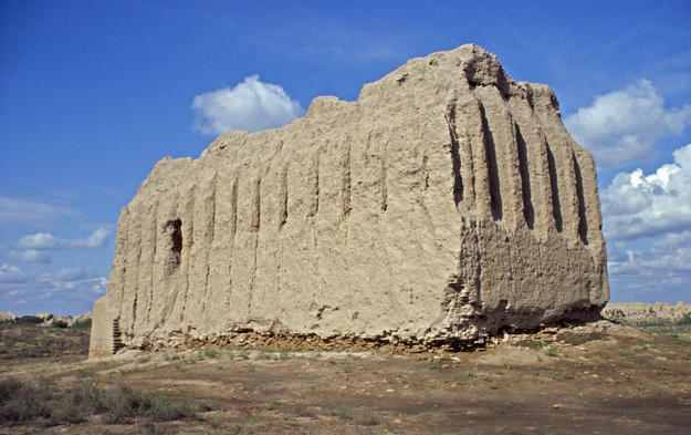 View of the Kepter Khana from the southwest, 2004