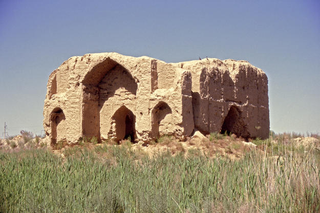 View from the south of the Timurid Pavilion, 2004