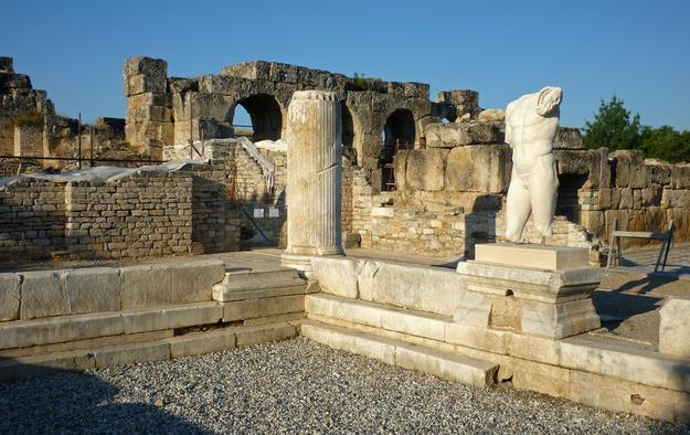 Hadrianic Baths, 2011