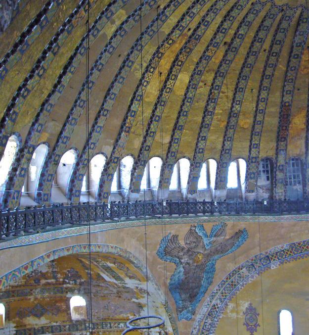 Interior of the dome, 2006