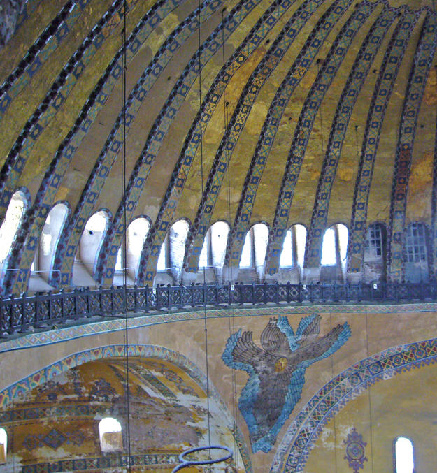 Interior of the dome, 2006
