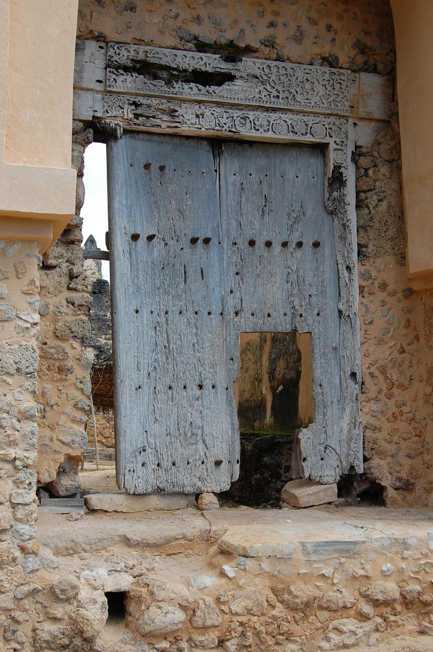 Main entrance of the Gereza , 2011