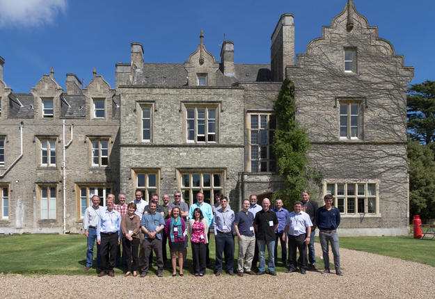 Participants in the Arches Community Workshop in the UK, 2013