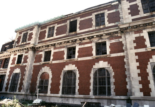 Façade of the Baggage and Dormitory Building, 2005