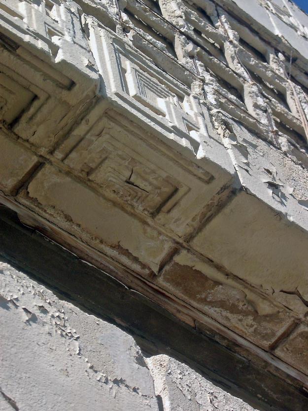 Deteriorating brick, 2004