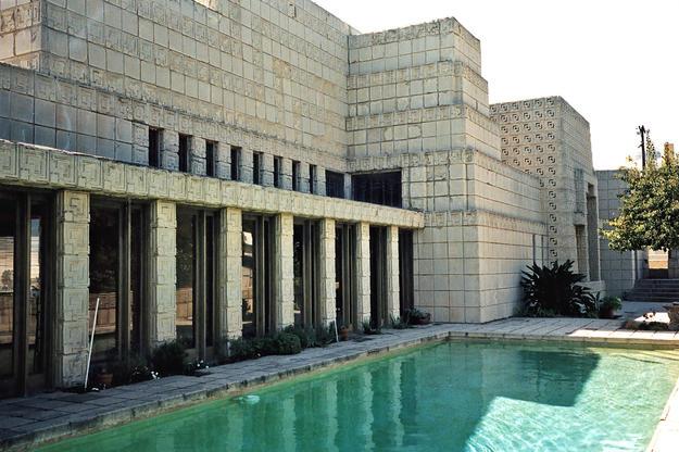 Pool terrace, 2003