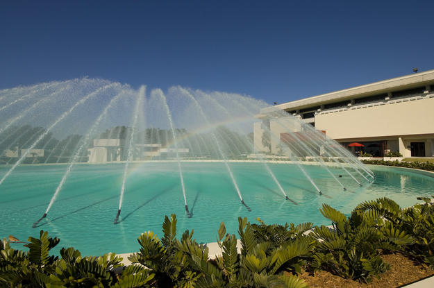 The water dome fountain, 2007
