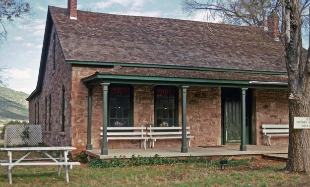 Captain's Quarters after conservation, reused as an Elder's Center, 1999