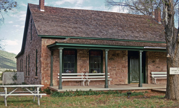 Captain's Quarters after conservation, reused as an Elder's Center, 1999