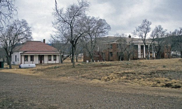 Post Office and Theodore Roosevelt School dormitory, 1994