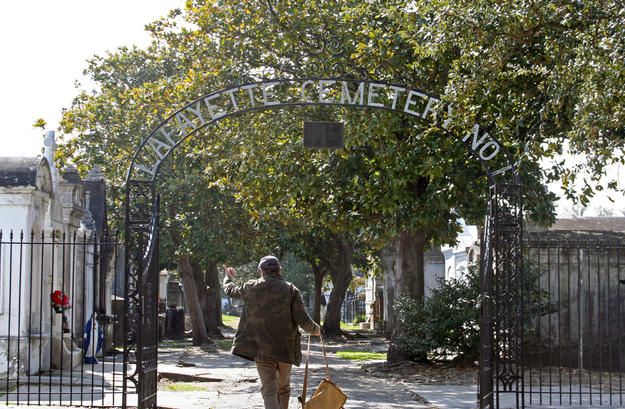Entrance to Lafayete Cemetery No. 1, 2010