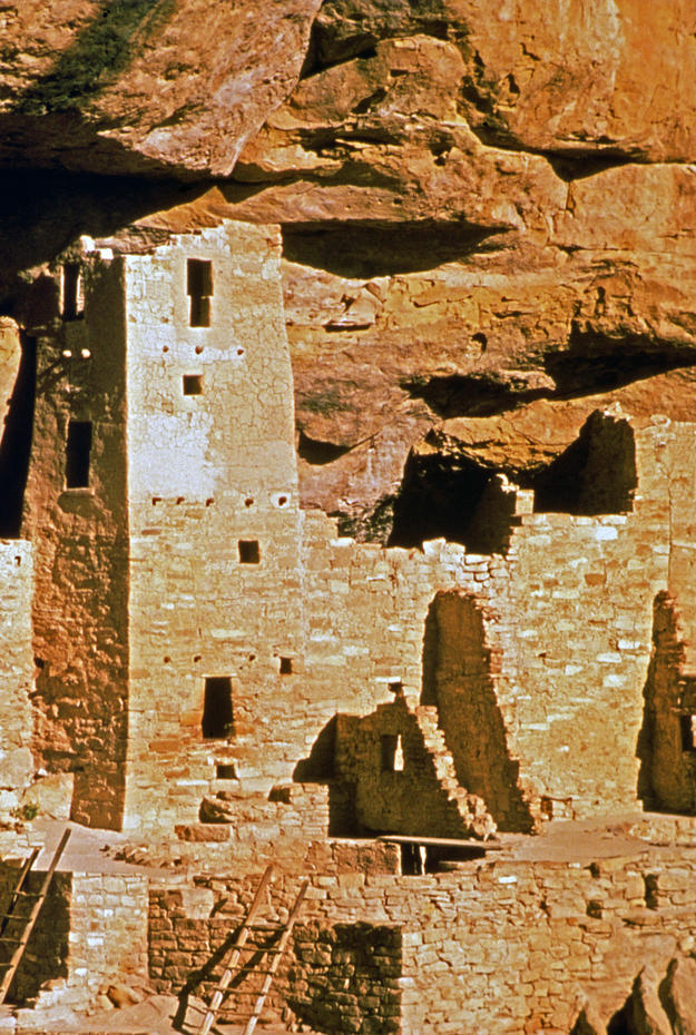 Detail of the Cliff Palace, 1998
