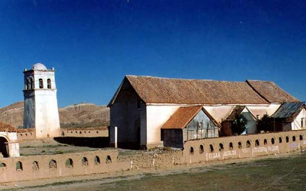 Arani and Callapa Churches