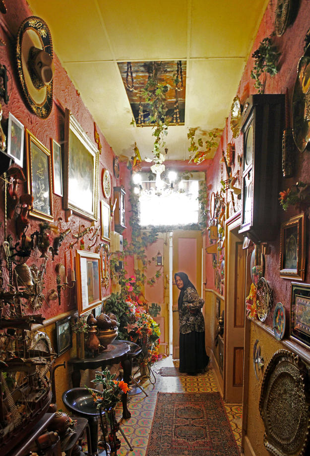 Bo-Kaap interiors are often embellished with artifacts that have come down through generations, 2015