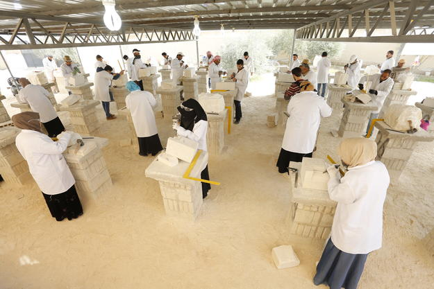 Stonemasonry conservation training facility in Mafraq, Jordan