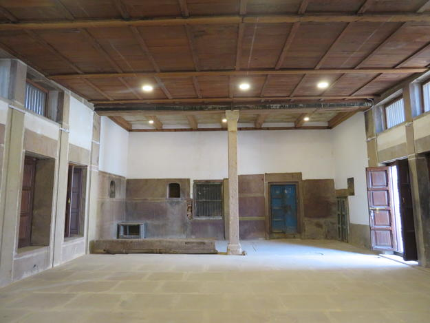 Bismillah Khan Hall, after conservation