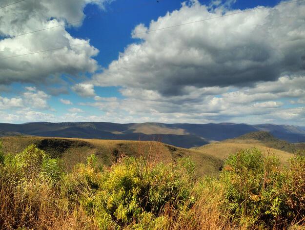 Serra da Moeda landscape