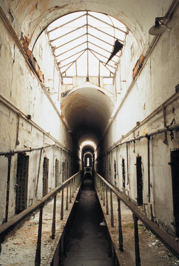 Cellblock 5, ©Eastern State Penitentiary/Elena Bouvier, 2003