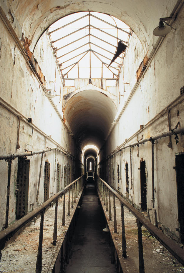 Cellblock 5, ©Eastern State Penitentiary/Elena Bouvier, 2003