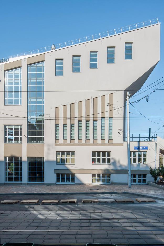 The restored exterior, 2016  Photo: Denis Esakov