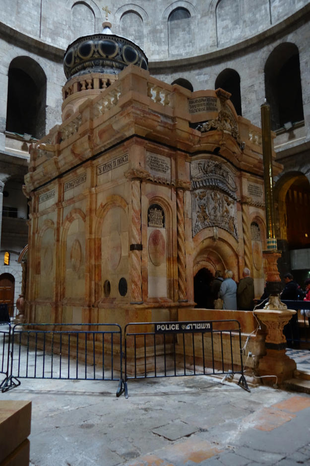The Edicule, after restoration