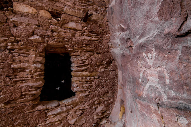 An ancient cliff dwelling in Bears Ears National Monument, 2018.