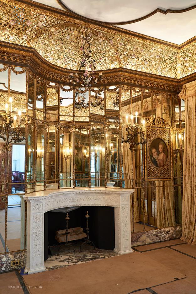 Venetian Room, post-conservation, 2018