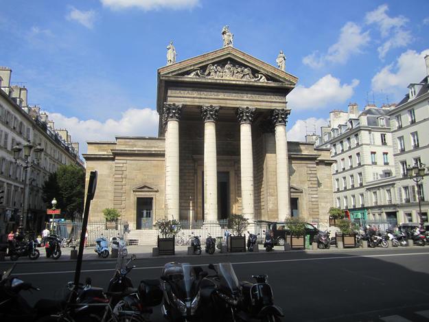 Notre-Dame-de-Lorette facade, 2013.