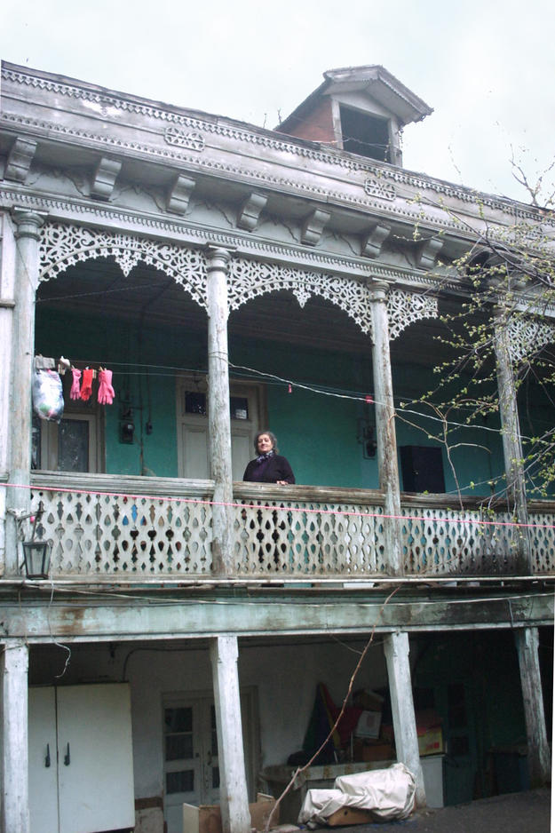Traditional house at Pagava street, 2003