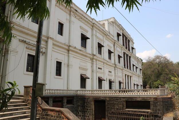 Lal Bagh Palace exterior, 2019