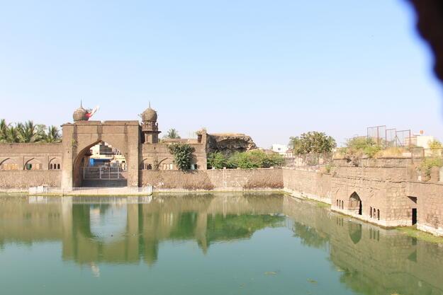 The Taj Baudi, or Royal Reservoir, is the biggest reservoir in Vijayapur. Photo credit: Joginder Singh.