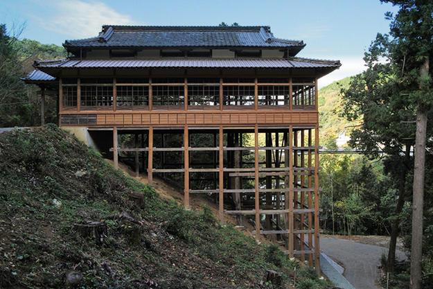 Sanro-den after conservation, 2015