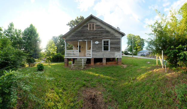 Nina Simone childhood home in 2018. Photo courtesy of the National Trust for Historic Preservation.