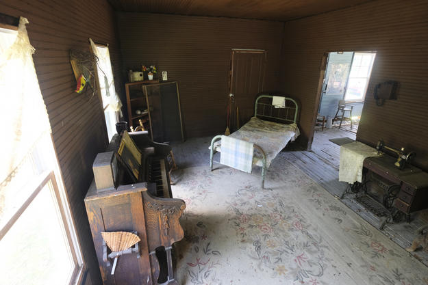 Interior, Nina Simone childhood home, 2018. Photo courtesy of the National Trust for Historic Preservation.