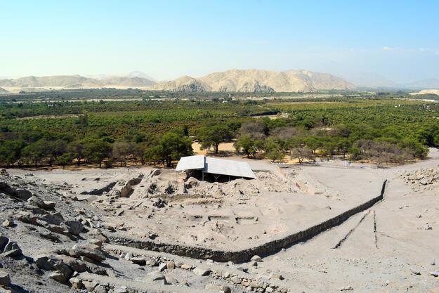 View from Cerro Sechín, 2020.