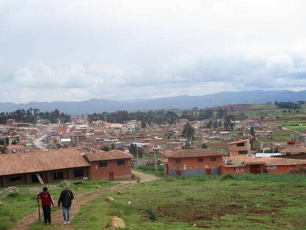 The urban landscape of Chinchero, 2019.