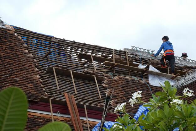 Repairing damage, 2019