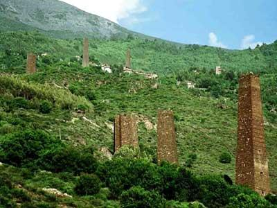STONE TOWERS OF SOUTHWEST CHINA