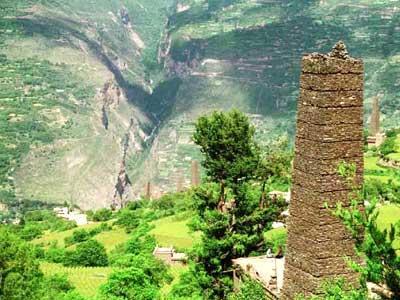STONE TOWERS OF SOUTHWEST CHINA