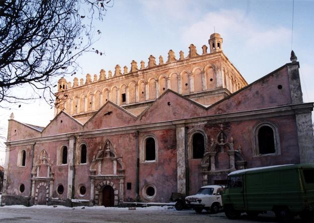View of façade, 1998