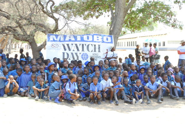 School children at Watch Day 2018