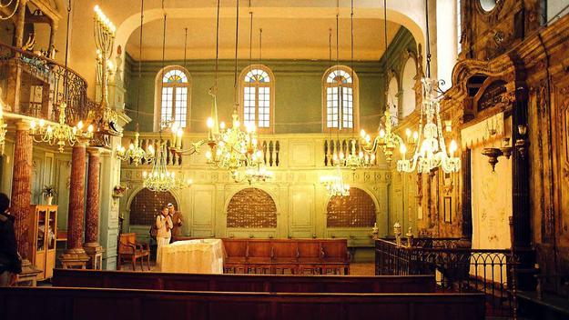 Carpentras Synagogue, interior