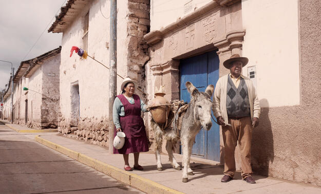Community members from Maras, a town within the Sacred Valley of the Incas.