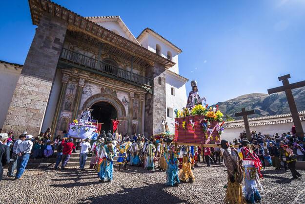 Templo San Pedro Apóstol de Andahuaylillas, Cusco, Peru