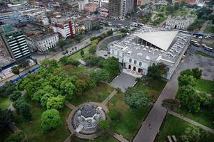 View of MALI Museum in the Parque de la Exposición, 2018.