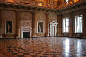 The Marble Saloon at Wentworth Woodhouse has been called the finest Georgian room in England, 2013