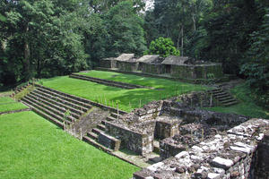General view of the Acropolis of Quirigua, 2010