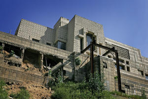 Frank Lloyd Wright-Designed Home Endangered By Heavy Rains