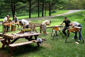 Work yard, 2006